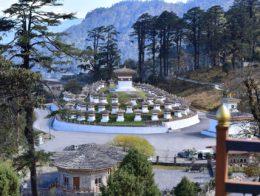 Dochula in Bhutan