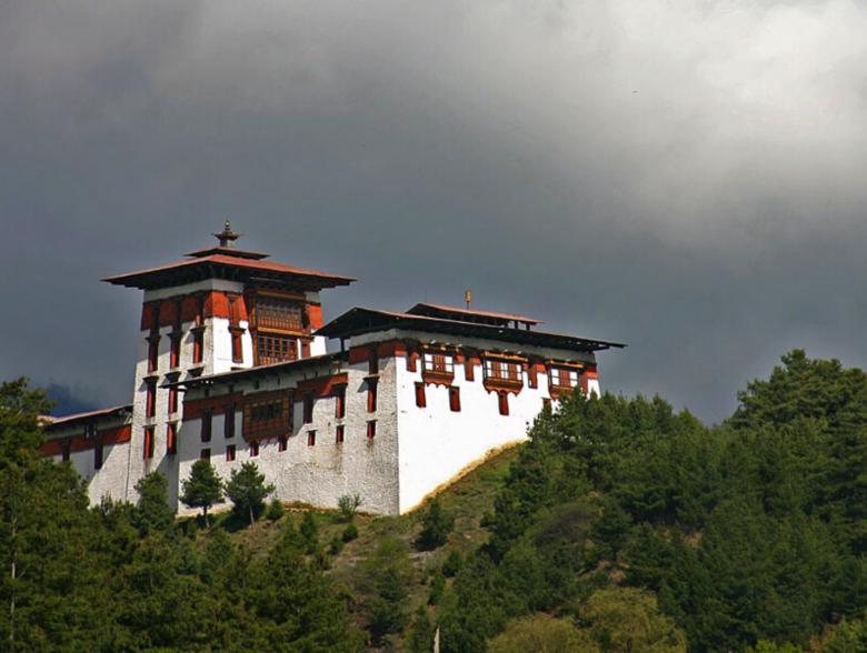 Jakar Dzong in Bhutan