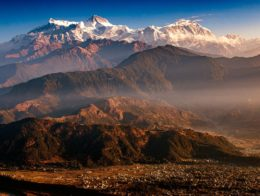 Phajoding Mountains in Bhutann