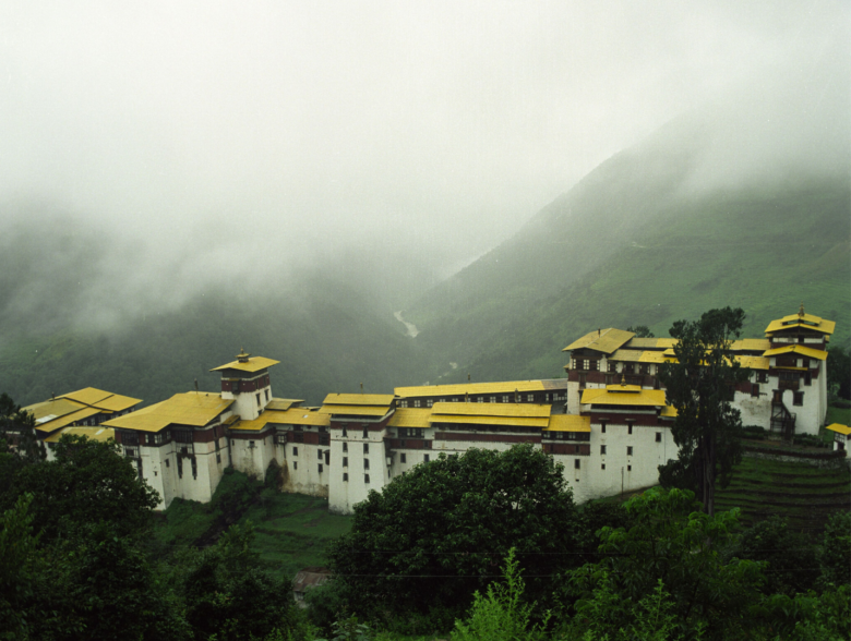 Trongsa in Bhutan
