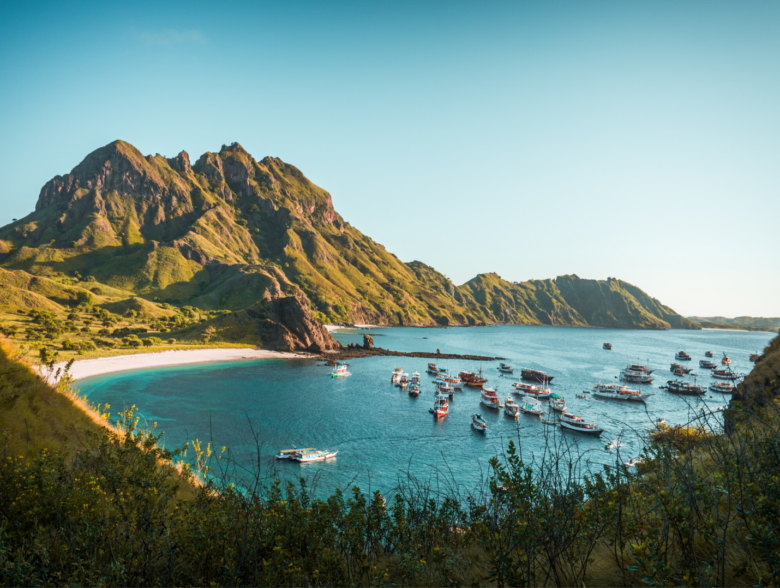 Komodo Island in Indonesia