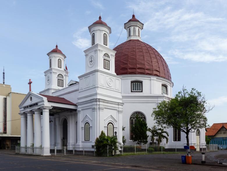 Semarang in Indonesia