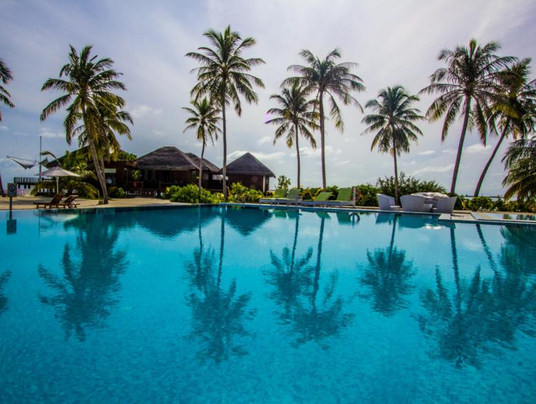 Kelaa Island in Maldives