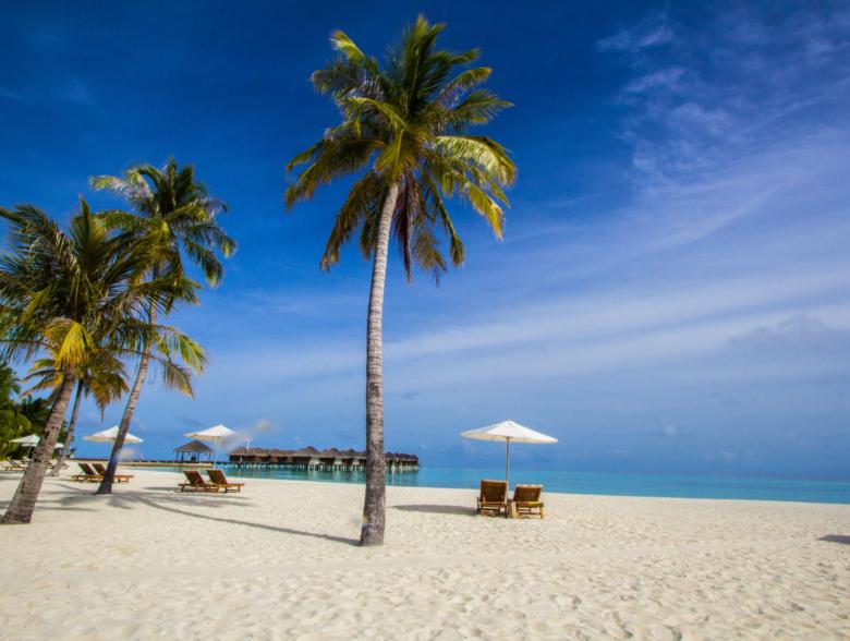 Maafushi Island in Maldives
