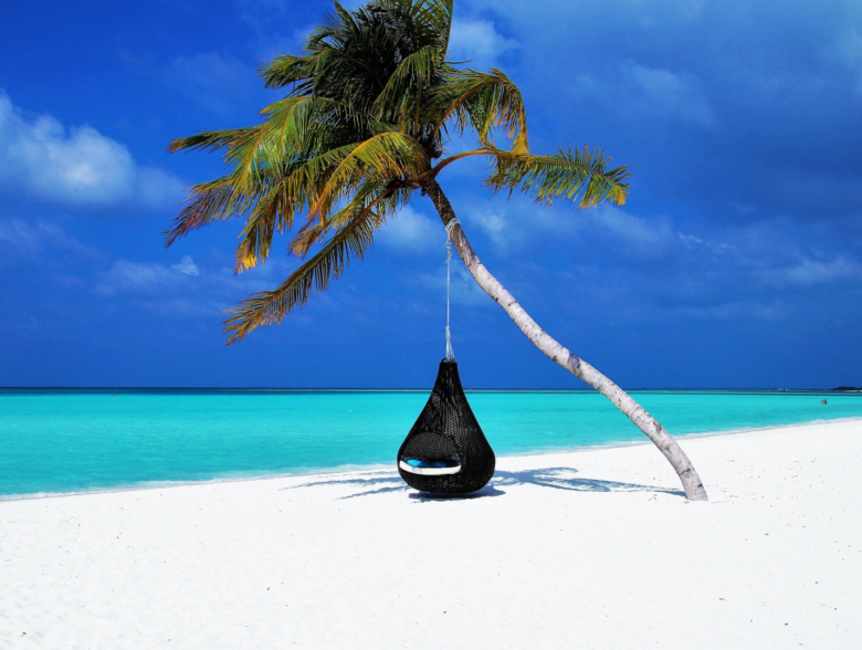Rasdhoo Island in Maldives