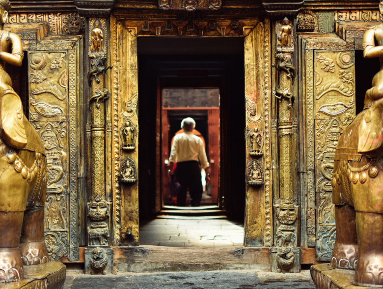 Marpha in Nepal
