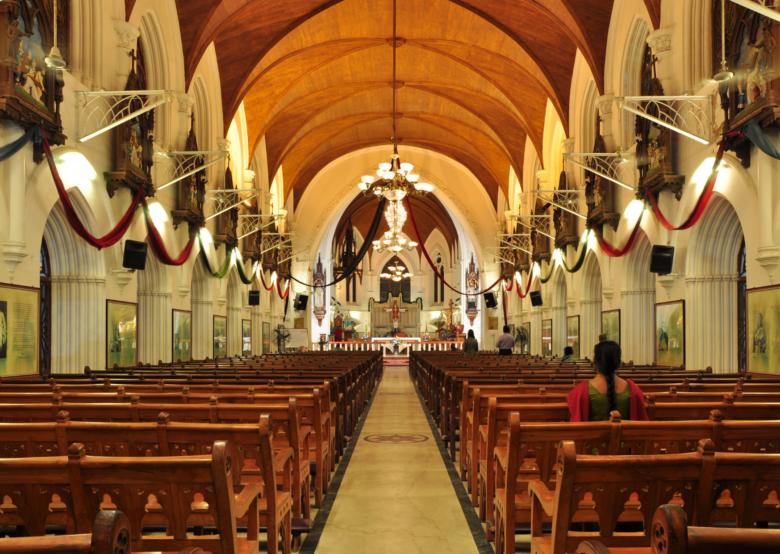 San Thome Cathedral Basilica chennai tamil nadu