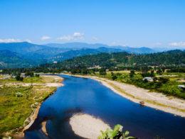 Dikrong river